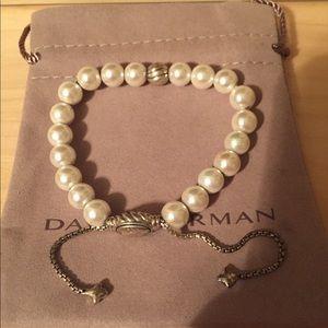 David Yurman Pearl Bracelet.